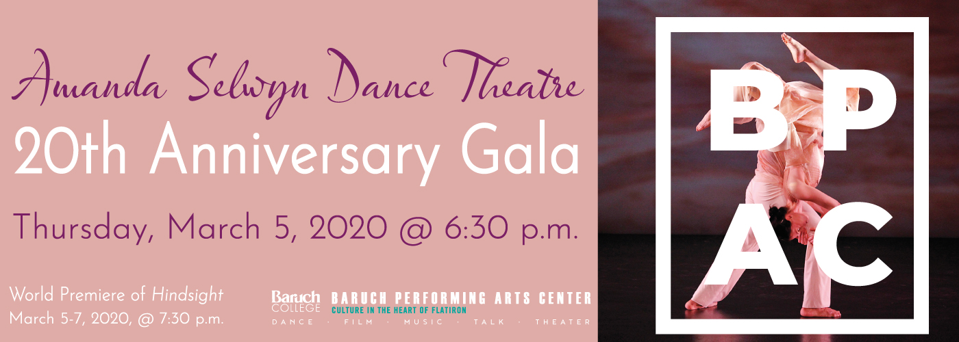 20th Anniversary Season at Baruch College