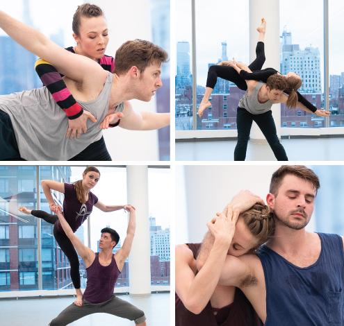 Amanda Selwyn Dance Theatre in an Open Rehearsal in Spring 2018